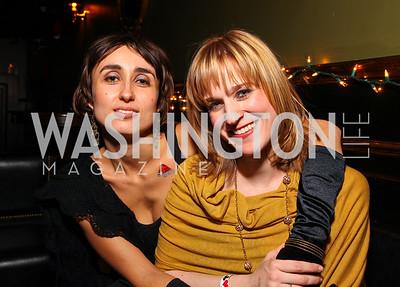 Tina Krivorotova and Tina Cruikshank. Jete Society Nutcracker Party at George. December 18, 2009. photos by Tony Powell
