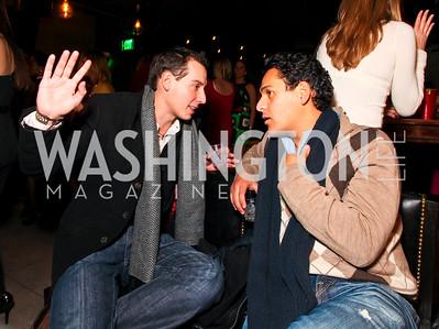 Carlos Castro and Paulo Salcedo. Jete Society Nutcracker Party at George. December 18, 2009. photos by Tony Powell