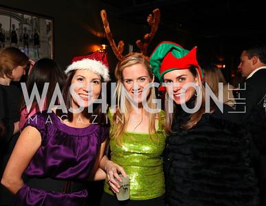 Michelle Grant, Callie Kelly, Jenni Swyka. Jete Society Nutcracker Party at George. December 18, 2009. photos by Tony Powell