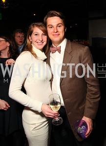 Diana Minshall and William Cox. Jete Society Nutcracker Party at George. December 18, 2009. photos by Tony Powell