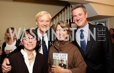 Margaret Carlson, Chris Matthews, Kathleen Matthews, Joe Scarborough