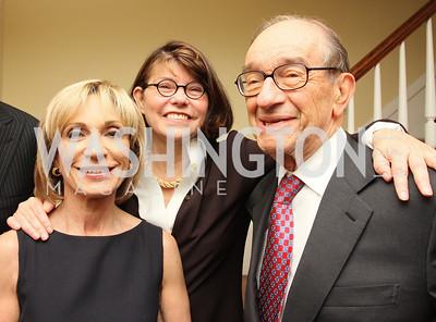 Andrea Mitchell, Margaret Carlson, Alan Greenspan