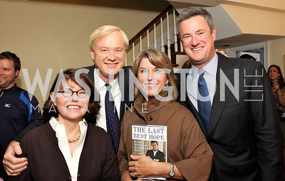 Margaret Carlson, Chris Matthews, Kathleen Matthews, Joe Scarborough