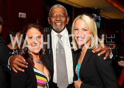 Kathy Vance, Jim Vance, Lindsay Czarniak, Photograph by Tony Powell