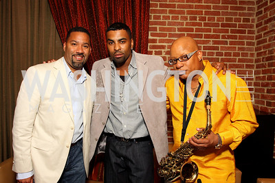 Marcus Johnson, Ginuwine, Ski Johnson, Photograph by Tony Powell