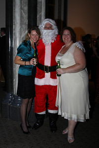 Sara Schnittger, Santa, Jennifer Howard Smithsonian Jolly Holiday. December 04, 2009. Photo's by Michael Domingo