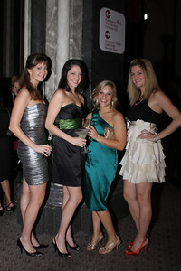 Megan Campbell, Robin Mcclelland, Erica Newman, Meghan Trimyer Smithsonian Jolly Holiday. December 04, 2009. Photo's by Michael Domingo