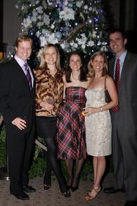 Will Seick, Katie Seick, Kate Stilwill, Kristen Quintenz, Bryan Quintenz Smithsonian Jolly Holiday. December 04, 2009. Photo's by Michael Domingo