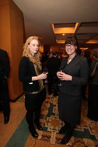 Quinn O'Brien, Katie Hughes. Justice For All Gala. December 8, 2009. Photos by Samantha Strauss.