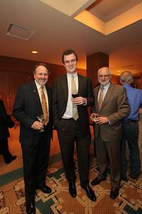 Richard Goemann, Daniel Weir, Norman Reimer. Justice For All Gala. December 8, 2009. Photos by Samantha Strauss.