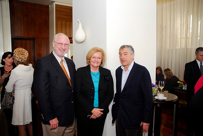 Kyle Samperton,December 6,2009,Honors Brunch,Joseph Shepard,Sen.Claire McCaskill,Robert De Niro
