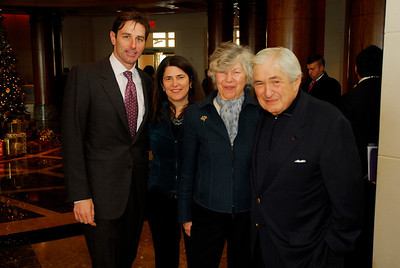 Kyle Samperton,December 6,2009,Honors Brunch,Paul Pelosi,Naomi Wolfensohn,Elaine Wolfensohn,James Wolfensohn
