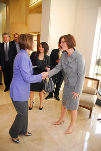 Kyle Samperton,December 6,2009,Honors Brunch,Rep.Nancy Pelosi,Amanda Hyndman