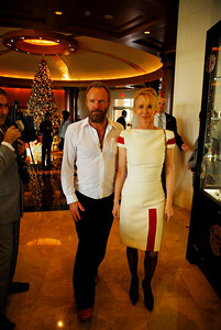 Kyle Samperton,December 6,2009,Honors Brunch,Sting,Trudie Styler