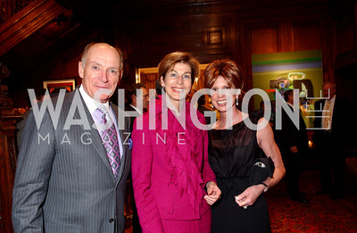 Paul MacCaskill, Ambassador Carolina Barco Isakson, Laurie MacCaskill (James R. Brantley)