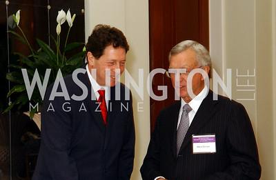 Ambassador Sir Nigel Sheinwald, Ted Lazenby  (James R. Brantley)