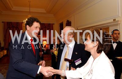 Nigel Sheinwald, John Payson, Joanne Payson (James R. Brantley)
