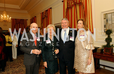 Bob Henderson, Caro Henderson, Ted Lazenby, Gigi Lazenby (James R. Brantley)