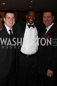 Aaron Stuetzer, Nyjer Morgan, Michael Giorgio 29th Annual Kidney Ball. November 21, 2009. Photo's by Michael Domingo