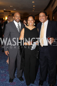 Guy Dunn, Sherilyn Pruitt, Ian Robinson 29th Annual Kidney Ball. November 21, 2009. Photo's by Michael Domingo