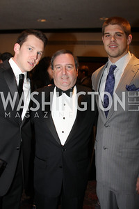 Allen Hermeling, Tony Englert, Colt Brennan 29th Annual Kidney Ball. November 21, 2009. Photo's by Michael Domingo