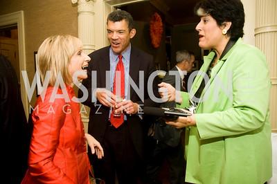 Andrea Mitchell, Mark Whitaker, Tammy Haddad