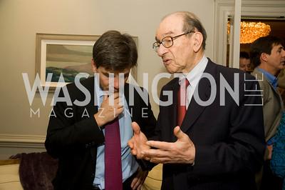 George Stephanopoulos, Alan Greenspan