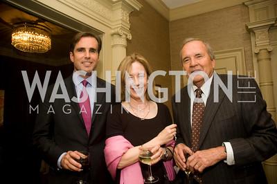 Bob Woodruff, Nancy Palmer,  John Palmer