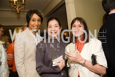 Desiree Rogers, Yoriko Fujisaki, Lisa Dobbs