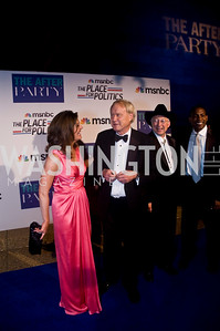 Norah O'Donnell, Chris Matthews, Ken Salazar, Photograph by Betsy Spruill Clarke