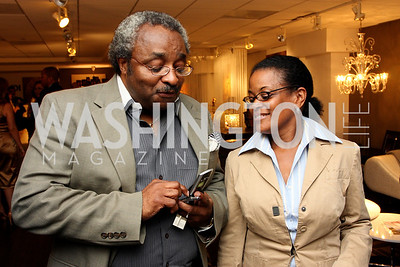 """Johnny Barnes"" and ""Darlene Taylor"" Honorary Chairs Hill Harper and The Honorable James Clyburn host a cocktail reception and fundraiser for Manifest Your Destiny Foundation at Fendi Casa May 13, 2009 (photo by Tony Powell)"