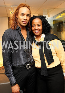 """""""Paul Wharton"""" and """"Charlotte Reid"""" Honorary Chairs Hill Harper and The Honorable James Clyburn host a cocktail reception and fundraiser for Manifest Your Destiny Foundation at Fendi Casa May 13, 2009 (photo by Tony Powell)"""
