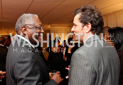"""Rep. """"James Clyburn"""" and """"Michael Clements"""" Honorary Chairs Hill Harper and The Honorable James Clyburn host a cocktail reception and fundraiser for Manifest Your Destiny Foundation at Fendi Casa May 13, 2009 (photo by Tony Powell)"""