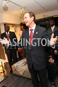 """Rep. """"Adam Schiff"""" Honorary Chairs Hill Harper and The Honorable James Clyburn host a cocktail reception and fundraiser for Manifest Your Destiny Foundation at Fendi Casa May 13, 2009 (photo by Tony Powell)"""