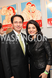 Afghanistan Amb. Said Tayeb Jawad and Shamim Jawad. ManifestHope: DC Closing Night. photos by Tony Powell.