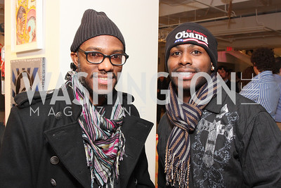 Munch and Sean Babb. ManifestHope: DC Closing Night. photos by Tony Powell.