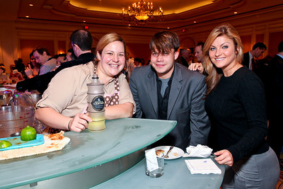 Mixtress Gina Chersevani, Jason Strich, Crystal Fanale. March of Dimes Signature Chefs Auction of DC. Ritz Carlton Ballroom. November 2, 2009. photos by Tony Powell