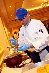 Aria Trattoria Sous Chef Laurent Reze. March of Dimes Signature Chefs Auction of DC. Ritz Carlton Ballroom. November 2, 2009. photos by Tony Powell