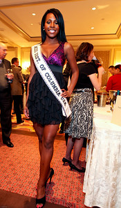 Miss DC USA Nicole White. March of Dimes Signature Chefs Auction of DC. Ritz Carlton Ballroom. November 2, 2009. photos by Tony Powell