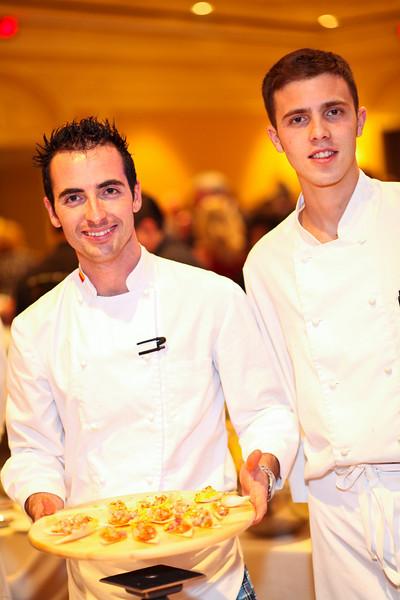Taberna Del Alabardero Chef Jose Ruiz and Jesus Cabeza. March of Dimes Signature Chefs Auction of DC. Ritz Carlton Ballroom. November 2, 2009. photos by Tony Powell