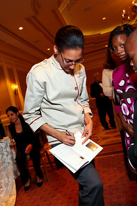 Celebrity Chef and Alchemy Caterers owner Carla Hall. March of Dimes Signature Chefs Auction of DC. Ritz Carlton Ballroom. November 2, 2009. photos by Tony Powell5