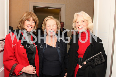ginny grenham, ethel kennedy, katherine evans, Photo by Tony Powell