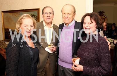ethel kennedy, peter edelman, george stevens,  elizabeth stevens, Photo by Tony Powell
