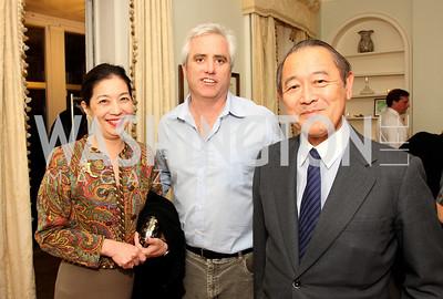 yoriko fujisaki, max kennedy,  ichiro fujisaki, Photo by Tony Powell