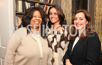 brenda richardson, cristina ferreira, cintia guimaraes, Photo by Tony Powell