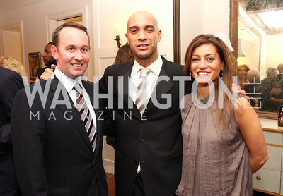 chris donatelli, adrian fenty, karen donatelli, Photo by Tony Powell