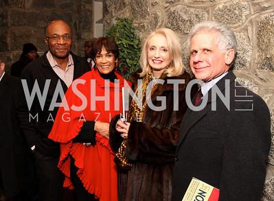 jim hudson, annea shmore, rhona friedman, donald friedman, Photo by Tony Powell