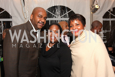 john thompson,  monica thompson,  beverly perry, Photo by Tony Powell