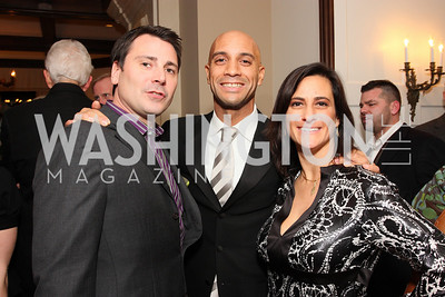 henry harris, adrian fenty, rebecca fishman, Photo by Tony Powell