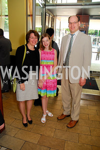 Amy Klobuchar, Abail Klobuchar, John Klobuchar  Photo by Kyle Samperton